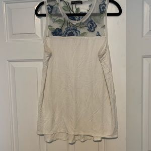 SALE kim&cami embroidered tank top